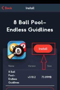 Click-on-Install-to-de kan hämtas8-Bolls-Pool-Hack
