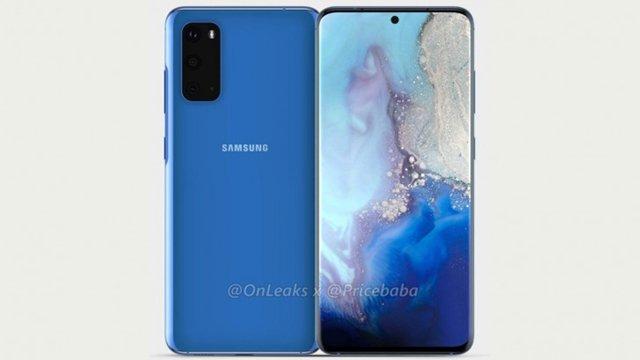 Samsung Filtration Galaxy S11e föreslår att den kommer med trippel bakkamera 1