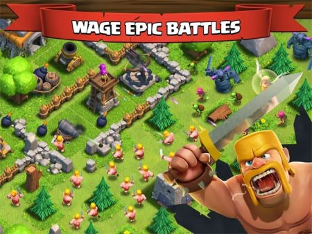 Clash of Clans Banner 01