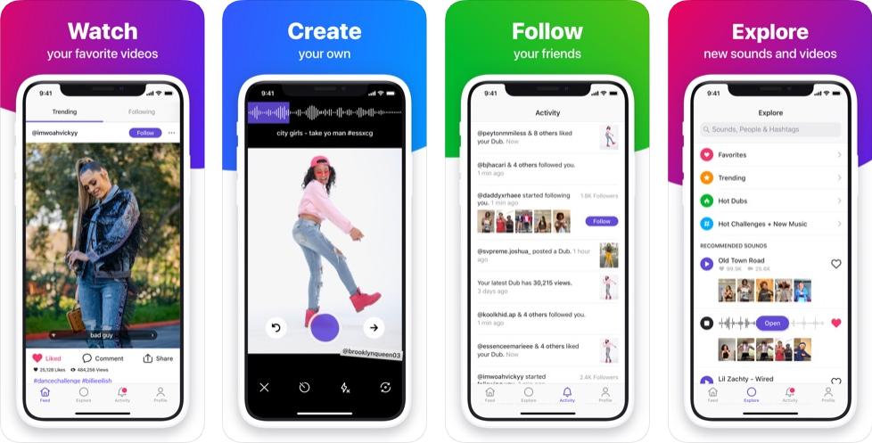Dubsmash - Bästa appen som Tik Tok