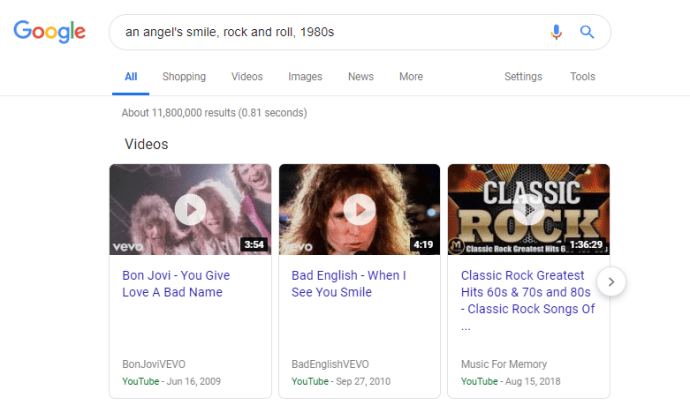 Hur man hittar en musikvideo utan att veta namnet 3