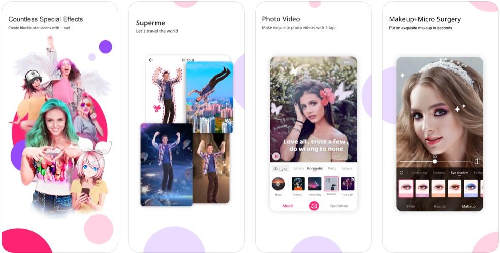 Likee - bästa appen för videoframställning