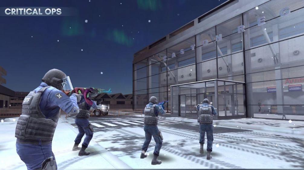 Critical Ops - Online Mulitplayer-spel för Android