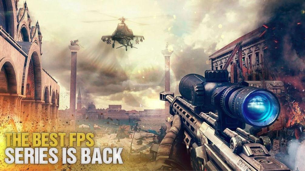 Modern krigsföring 5 - Bästa Android-spel för flera spelare