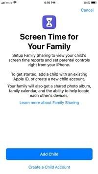hur man blockerar webbplatser på en iphone - skärmdump 5