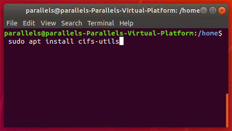 Linux Install Cifs Utils