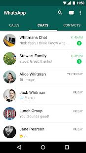 WhatsApp Messenger-skärmdump