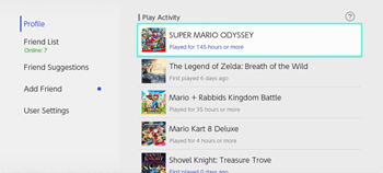 hur många timmar spelade på nintendo-omkopplaren
