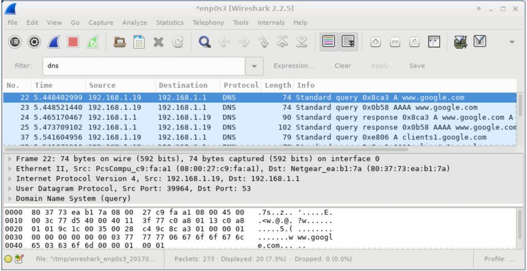 Lär känna förståelsen för Wireshark och dess funktioner och sätt, komplett! 3