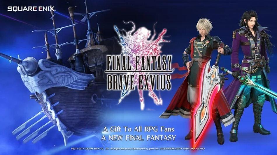 Final Fantasy Brave Exvius androidspel