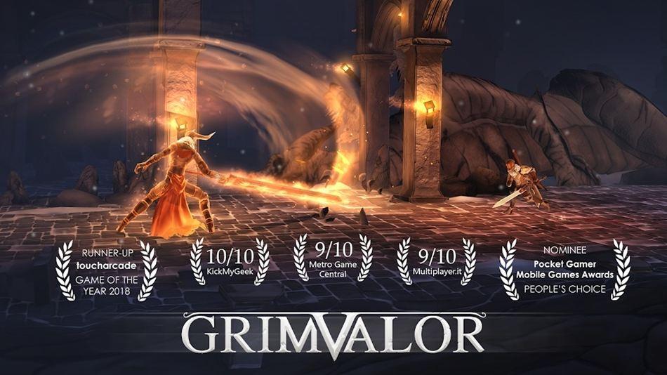 Grimvalor 120Hz spel android
