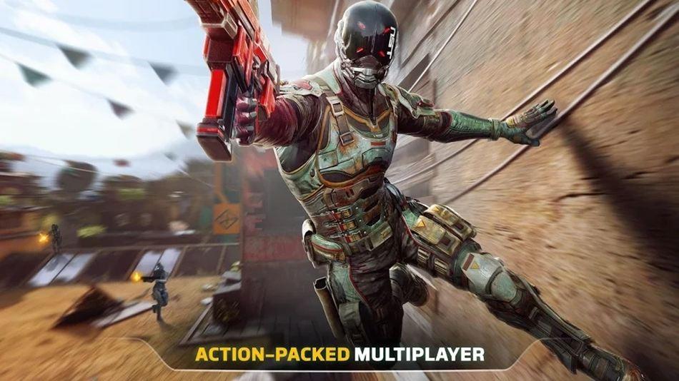 Modern Combat versus 120fps spel