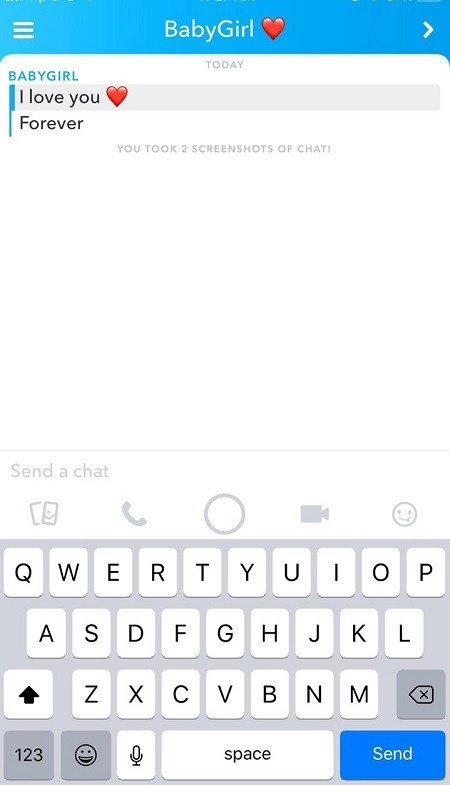 Hur man tar bort alla sparade meddelanden på Snapchat på en gång 2