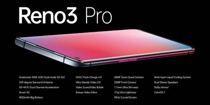 OPPO Reno3 Pro är officiell! Vikt rival för Xiaomi och Android konkurrens 4