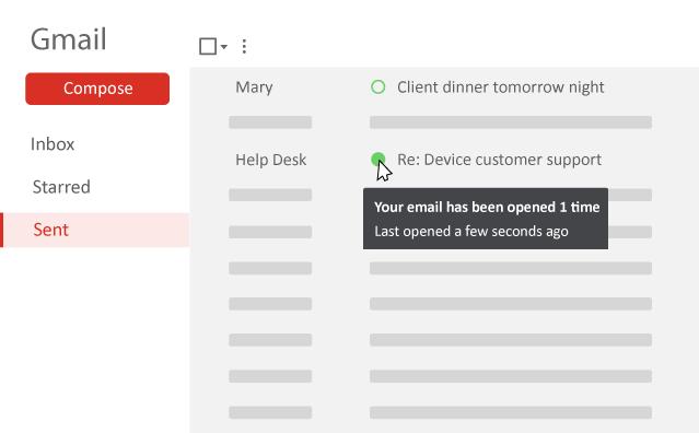 Mailpanion, ett enkelt sätt att veta om de har läst de e-postmeddelanden du skickar 2