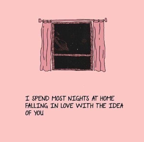 Tänker på dig söta citat