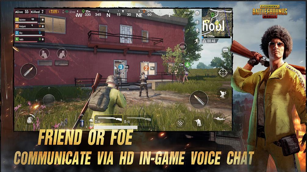 PUBG MOBILE - Bästa Android Multiplayer-spel