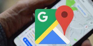 Google Maps interface Android utilizadores