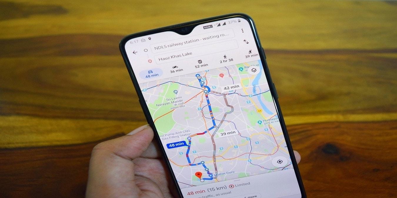 Hur du ändrar din rutt på Google Maps