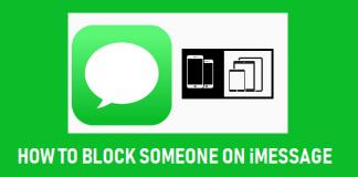 Blockera någon på iMessage iPhone eller iPad