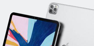 iPad Pro Triple Lens Render