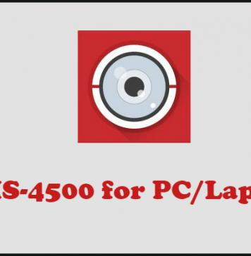 iVMS-4500 på PC och Laptop