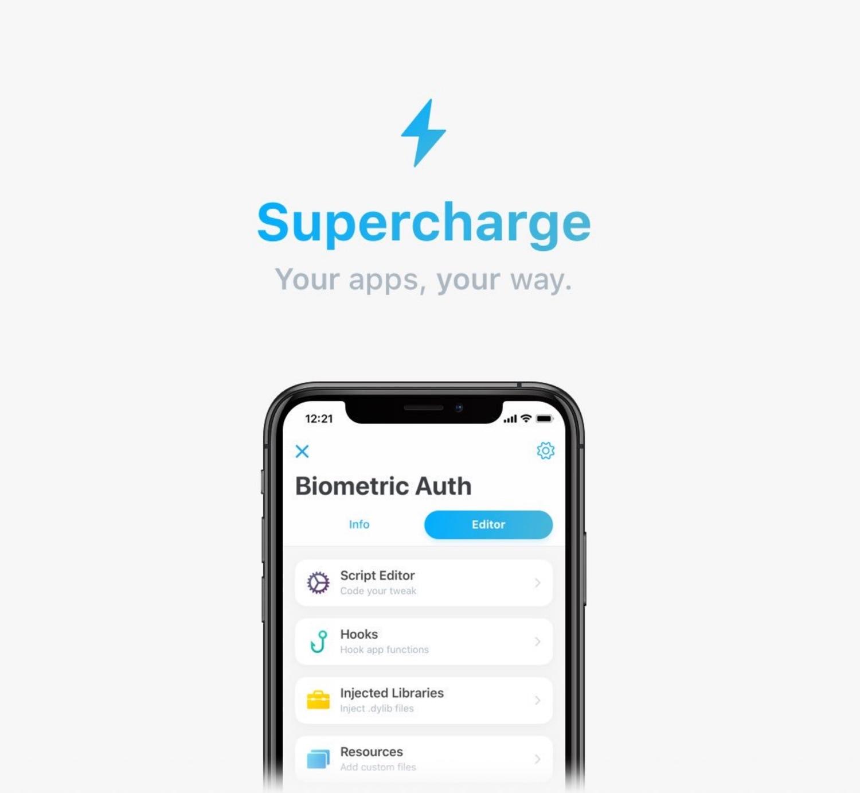 Supercharge syftar till att omdefiniera tweaking på jailbroken & amp; enheter som inte är fängslade 1