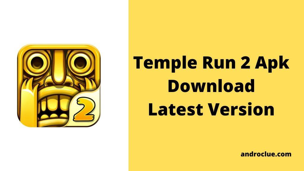 Temple Run 2 Apk