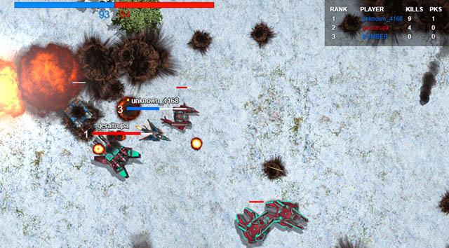 TacticsCore-fun webbläsarspel