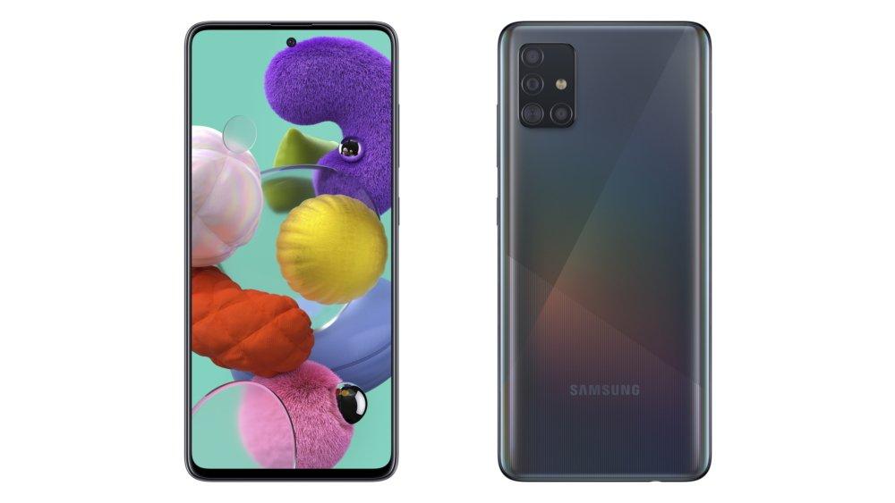 Så är den nya Samsung Galaxy A71 och Galaxy A51 med fyrkamera 1