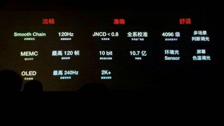 OnePlus 8 kommer att ha en av de bästa skärmarna 2020 med 120 Hz OLED 2K, bekräftar VD 1