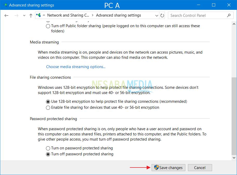 PC-inställningar A 4