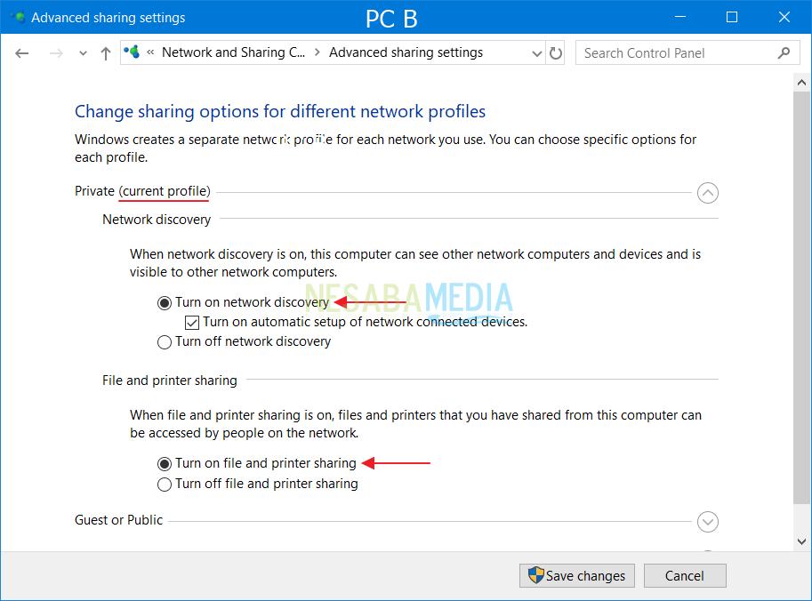 Så här sätter du på LAN Windows fullständig