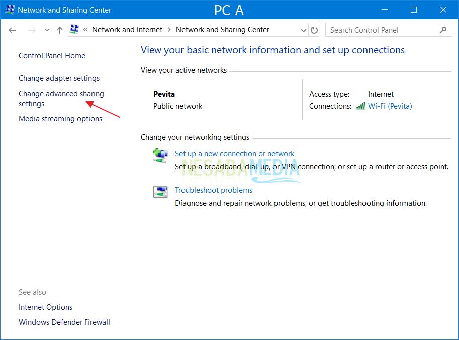 PC-inställningar A 1