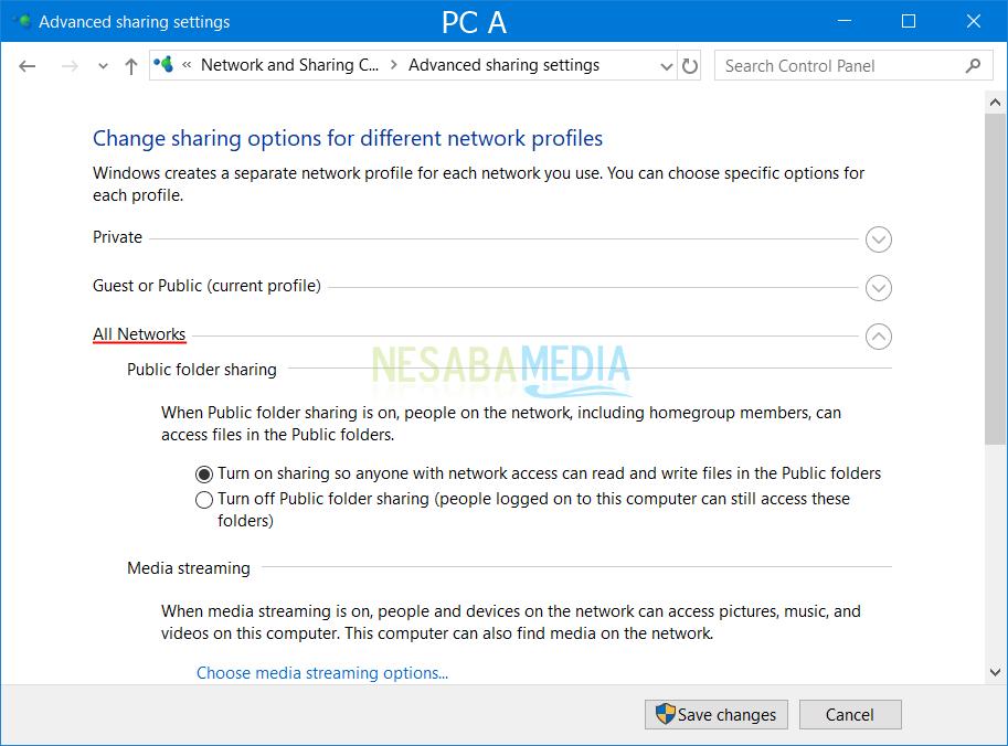 PC-inställningar A 2
