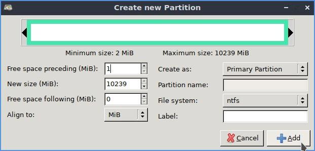 Linux Ntfs-format Använd