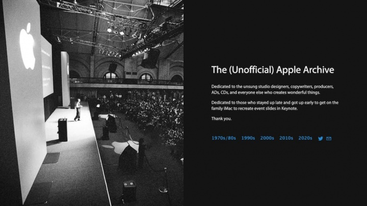Apple Arkiv: Webbplatsen med alla historia och produkter från företaget grundat av Steve Jobs 1