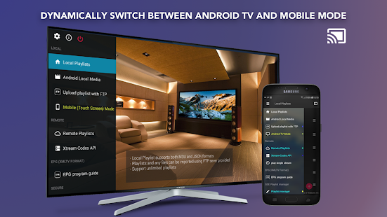 GSE SMART IPTV-skärmbild