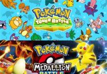 Du kan nu spela Pokmon Medallion Battle Och Pokmon Tower Battle On Facebook