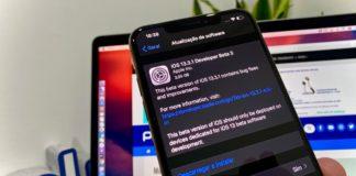 Imagem iPhone com iOS 13.3.1 beta