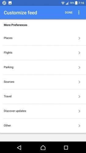 Hur du anpassar Google på en Android-telefon för foderaviseringar 6