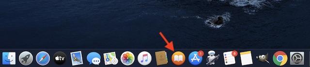 öppen Apple Böcker på din Mac
