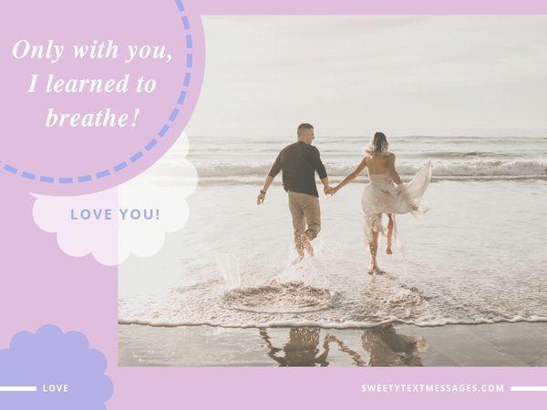 Kort och romantisk SMS för att bekänna din kärlek till en flicka