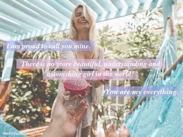 Romantiska saker att skriva till din flickvän i en text