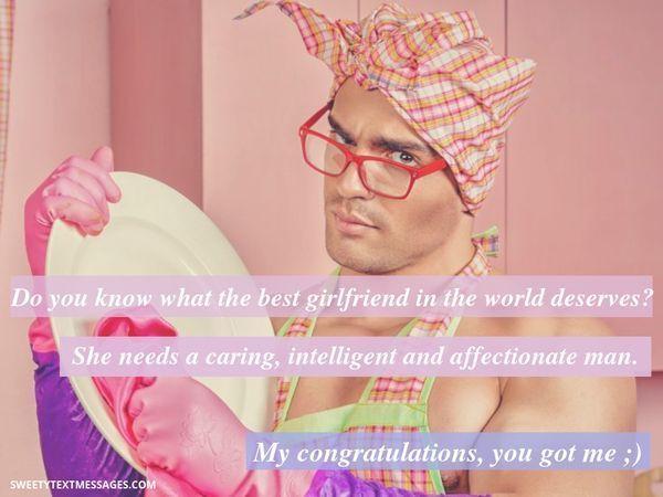 Romantiskt textmeddelande till pojkvänens flickvän
