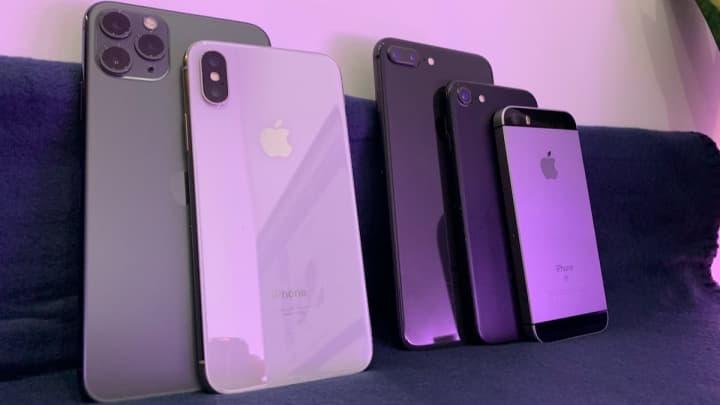 Bild iPhones som kommer att få iOS 14