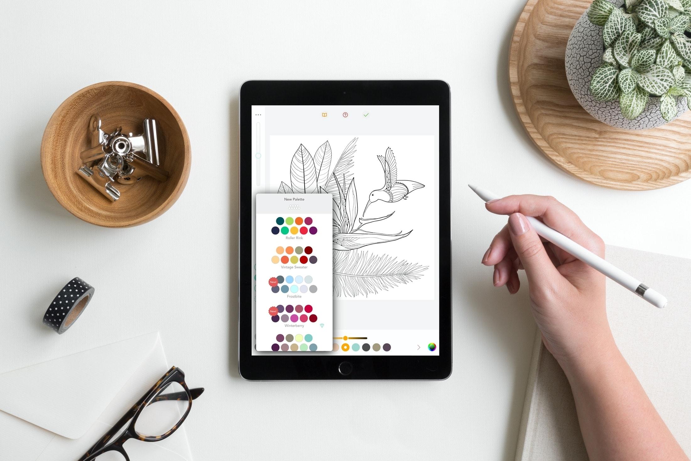 Målarböcker apps - Pigment