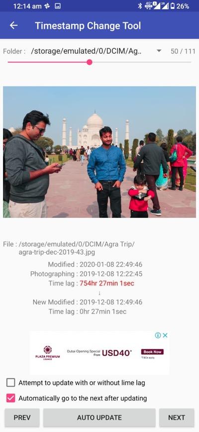 Håll dina telefongalleri foton i ordning genom att uppdatera modifierat datum 1