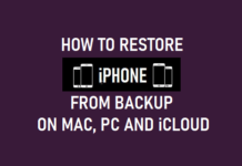Restore iPhone From Backup on Mac, PC and iCloud
