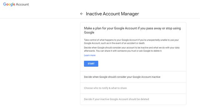 Hur du tar bort ditt Google-konto automatiskt 2